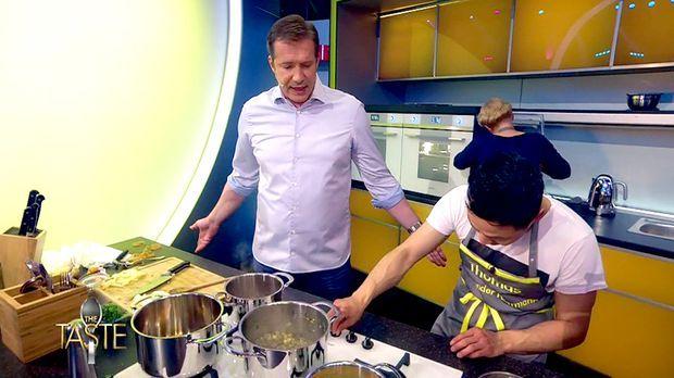 The Taste - The Taste - In Den Küchen Wird's Ernst: Die Teams Starten Durch