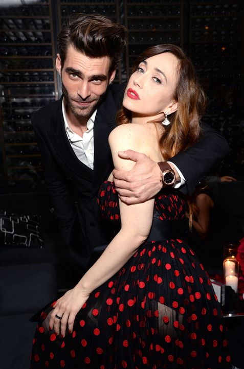 BVLGARI-Pre-Oscar-Party-Jon-Kortajarena-Chiara-Francini-15-02-17-getty-AFP - Bildquelle: getty-AFP