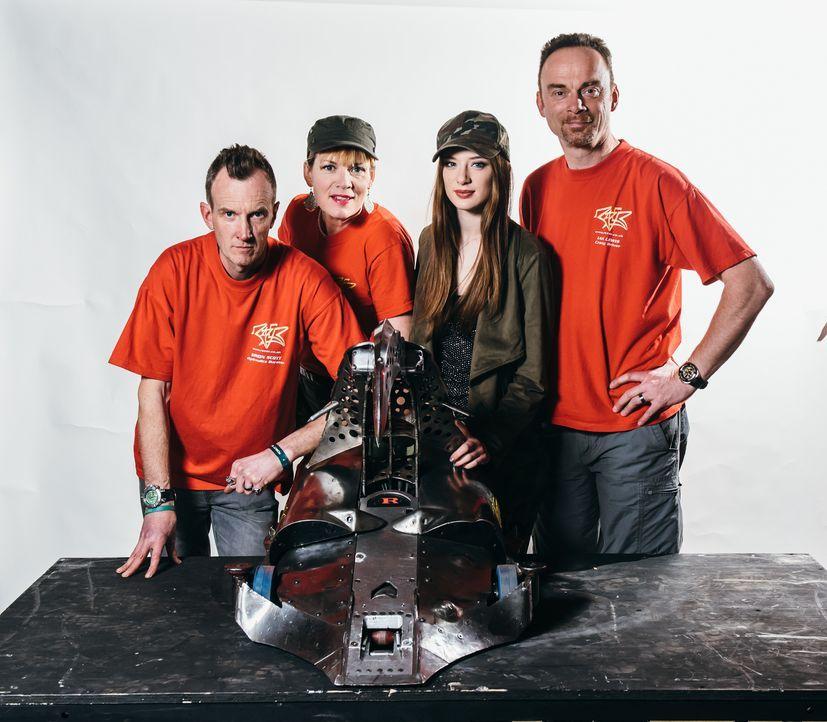 Team Razer ist bereit, sich mit ihrem Roboter in den Kampf zu stürzen ... - Bildquelle: Andrew Rae