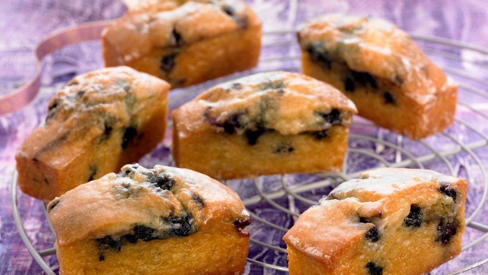 Mini Kuchen Mit Blaubeeren Rezept