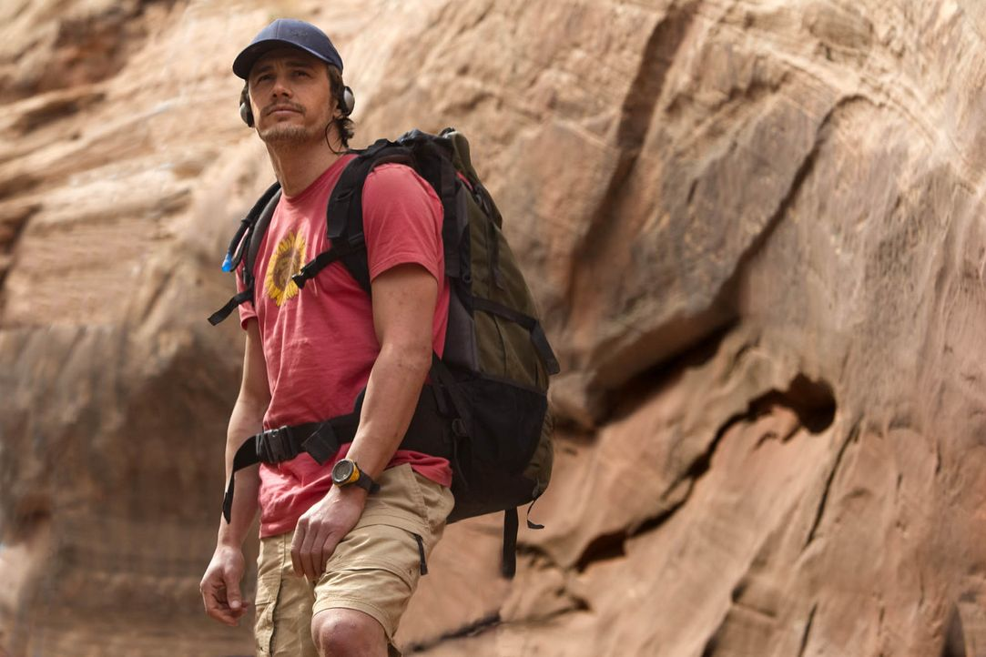 Der Abenteurer und Kletterer Aron Ralston (James Franco) gerät während einer Tour durch den Blue John Canyon Utahs in eine Situation auf Leben und... - Bildquelle: 2010 Twentieth Century Fox Film Corporation. All rights reserved.