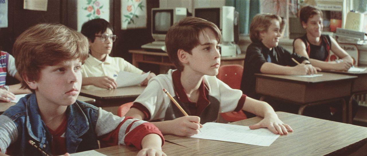 Der Unterricht in der Schule ist für den hochintelligenten Daryl (Barret Oliver, M.) meist ziemlich langweilig ... - Bildquelle: Paramount Pictures