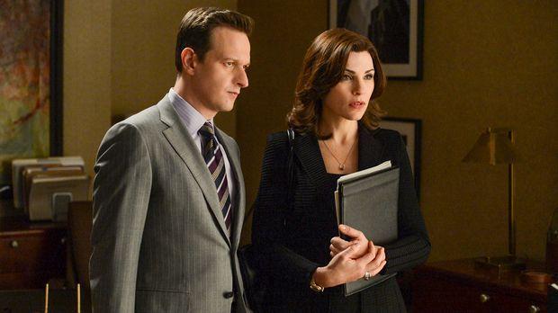 Ihr neuester Fall bringt Alicia (Julianna Margulies, r.) und Will (Josh Charl...