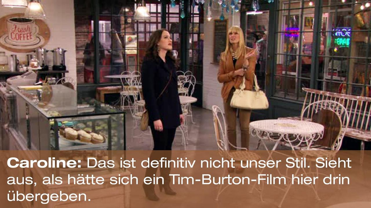 2-broke-girls-zitat-quote-staffel2-episode11-geschaeftspartnerin-caroline-timburton-warnerpng 1600 x 900 - Bildquelle: Warner Bros. International Television