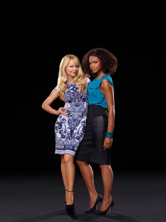 (1. Staffel) - Die Vergangenheit verbindet Olivia Vincent (Charlotte Ross, l.) und Sloane Hayes (Kimberly Elise, r.) mehr, als beide erwarten ... - Bildquelle: 2013 Starz Entertainment LLC, All rights reserved