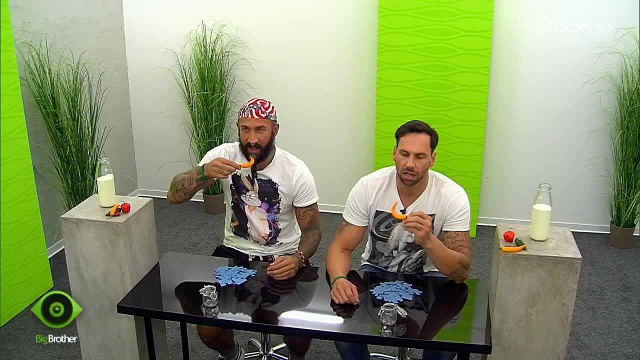 Guido und HC bestreiten ein scharfes Match - Bildquelle: sixx
