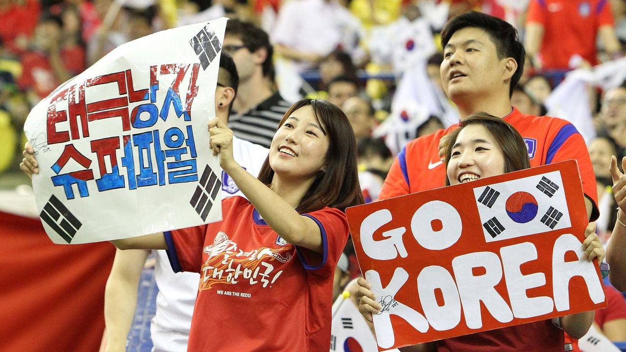 Südkorea - Bildquelle: 2015 Getty Images