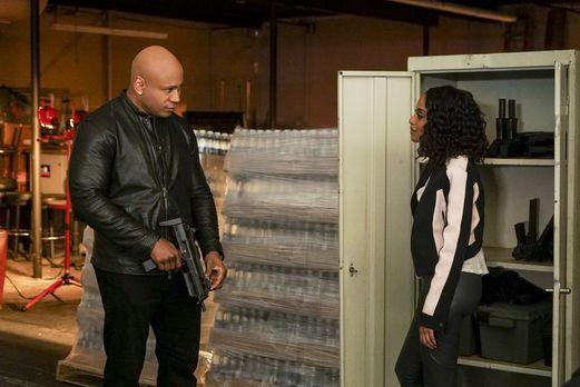 Um einen neuen Fall zu lösen, muss Sam (LL Cool J, l.) seine frühere Identitä...