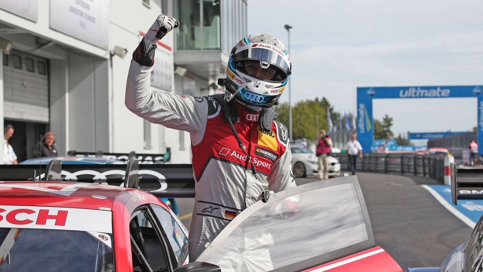 Rene Rast: Maximum auf dem Nürburgring. - Bildquelle: imago/Pakusch