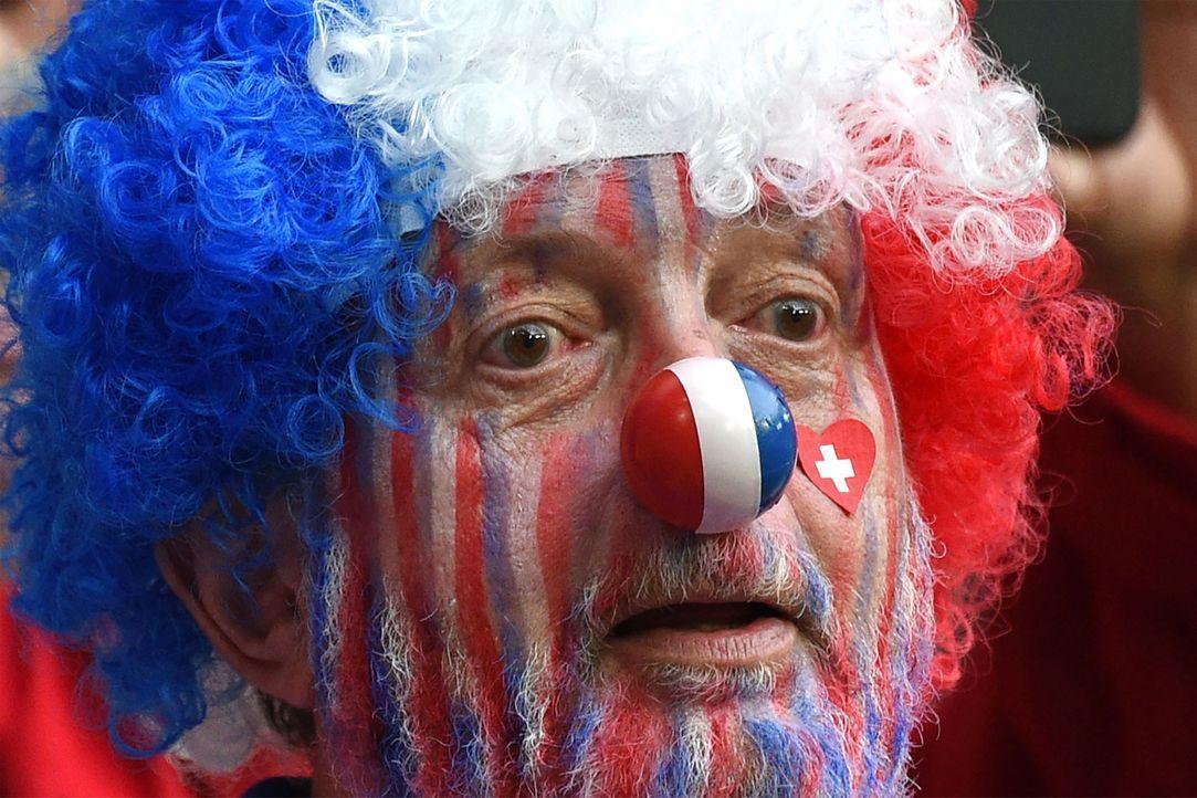 France_clown_FRANCOIS LO PRESTI_AFP - Bildquelle: AFP / FRANCOIS LO PRESTI