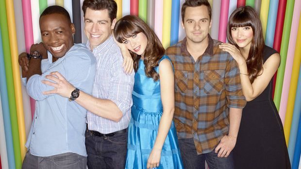 new girl news staffel 3 ab 26 m rz auf prosieben. Black Bedroom Furniture Sets. Home Design Ideas