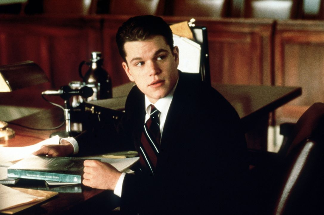 Seine Illusionen sind dahin: Anwalt Rudy Baylor (Matt Damon) ... - Bildquelle: Paramount Pictures