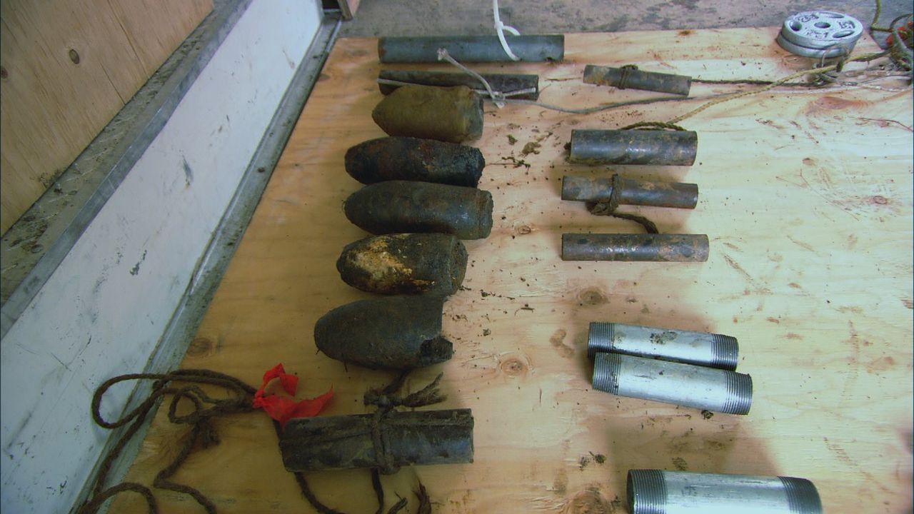 Die Bombenjäger stellen sich heute der Frage, welch explosive Fracht im Wrack der am 4. Oktober 1944 torpedierten HMCS Chebogue sein könnte ... - Bildquelle: 2012 PIXCOM PRODUCTIONS INC.