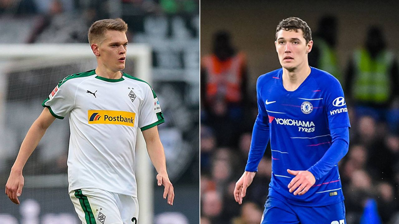 Matthias Ginter (Borussia Mönchengladbach) und Andreas Christensen (FC Chelsea) - Bildquelle: Getty Images