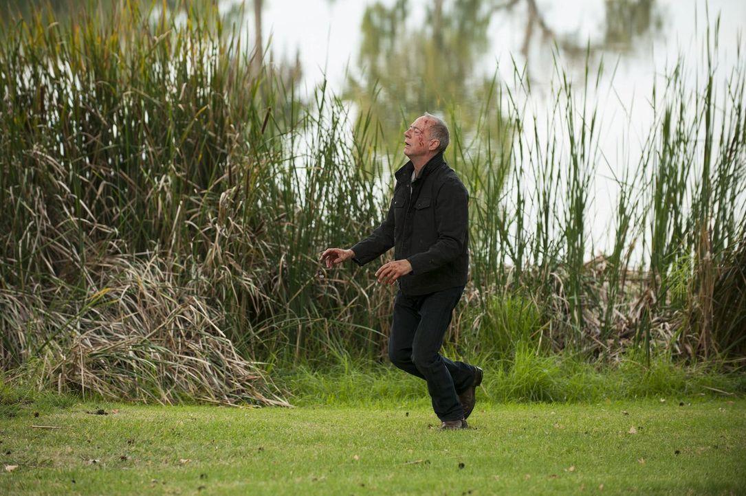 Muss Patrick Janes Rache spüren: Sheriff Thomas McAllister (Xander Berkeley) ... - Bildquelle: Warner Bros. Television