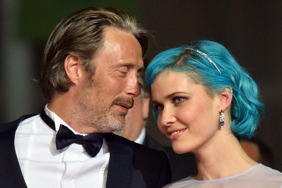 Cannes-Filmfestival-Mads-Mikkelsen-Nanna-Oland-Fabricius-140517-AFP - Bildquelle: AFP