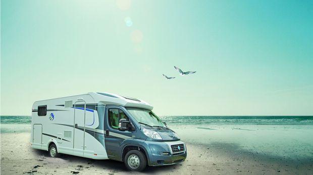Jan Stecker unterwegs auf Camping-Tour! Eben erst auf dem Caravan Salon in Dü...