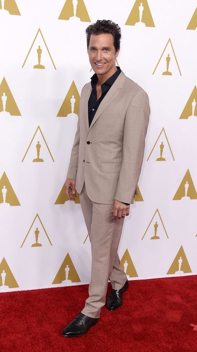 Matthew McConaughey - Bildquelle: dpa