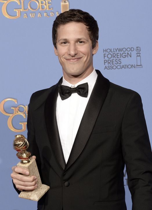 Golden-Globe-Andy-Samberg-14-01-12-getty-AFP - Bildquelle: getty-AFP