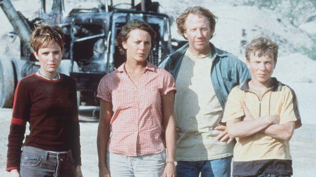 Gegen die geballte Kraft der wildgewordenen Lastwagen haben Abby (Amy Stewart...