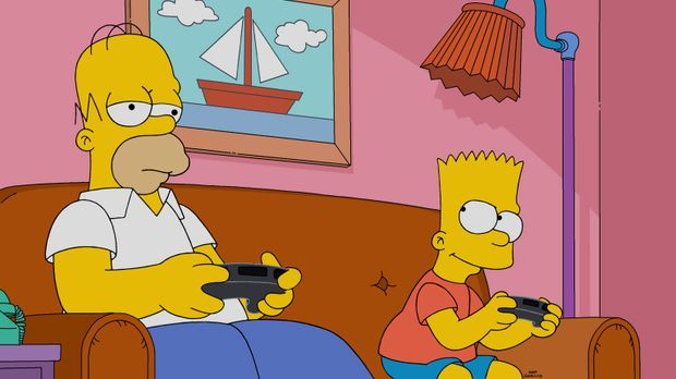 Die Aufgaben eines Vaters sind ganz schön kompliziert, findet auch Homer (l.)...