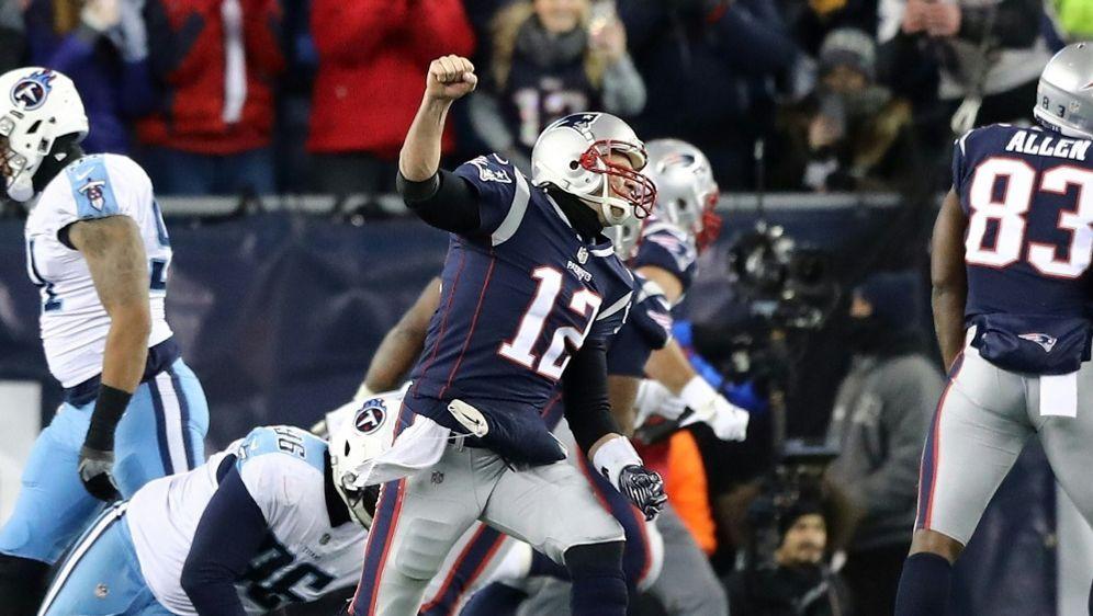 Die New England Patriots stehen im Play-off-Halbfinale der NFL - Bildquelle: GETTY IMAGES NORTH AMERICAGETTY IMAGES NORTH AMERICAAFPELSA