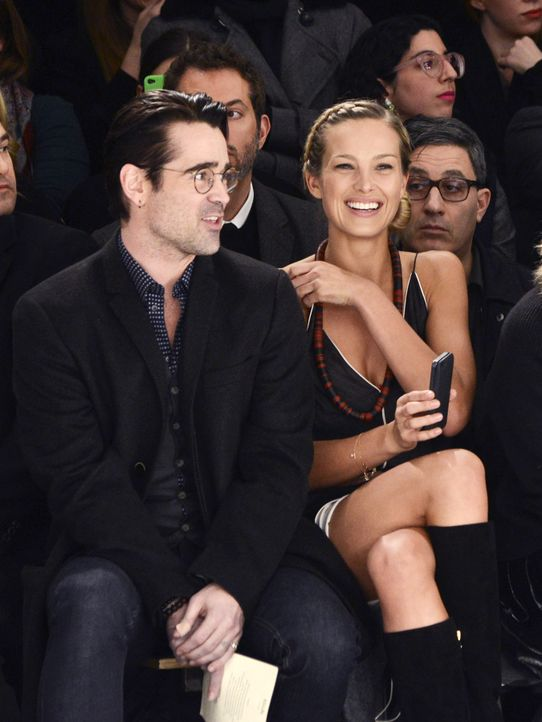 FW-NY-Colin-Farrell-Petra-Nemcova-14-02-09-getty-AFP - Bildquelle: getty-AFP