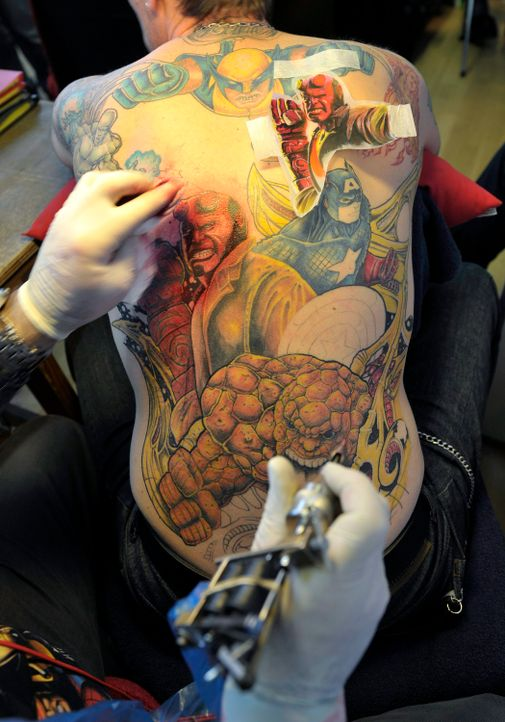 Tattoo15_dpa - Bildquelle: dpa