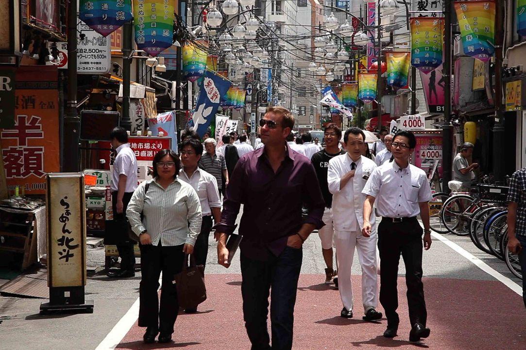 Kult-Moderator Kai Böcking in spektakulärsten Stadt der Welt: Tokio ... - Bildquelle: kabel eins