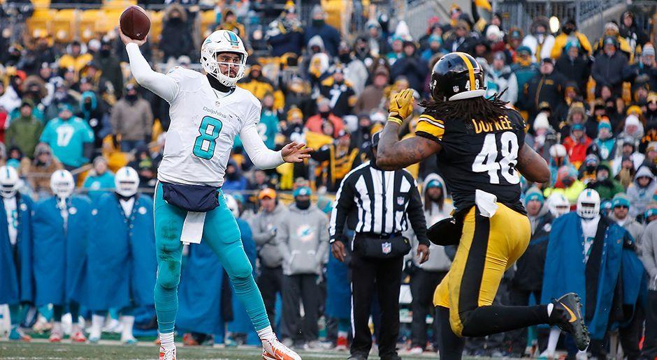 Platz 2: Miami Dolphins - Matt Moore - Bildquelle: 2017 Getty Images