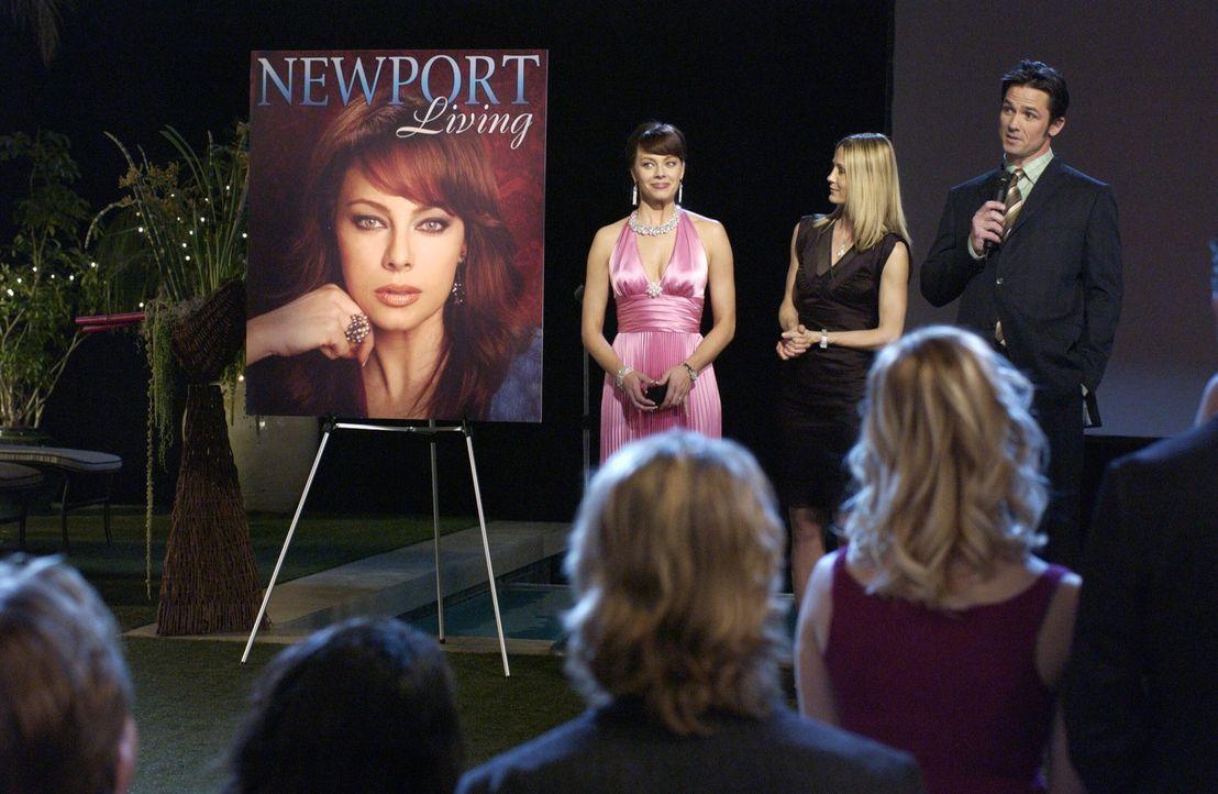 Noch ahnen Julie (Melinda Clarke, l.), Kirsten (Kelly Rowan, M.) und Carter (Bill Campbell, r.) nicht, was passieren wird ... - Bildquelle: Warner Bros. Television