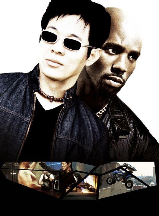 Trotz aller Unterschiede müssen ein Meisterdieb (DMX, r.) und ein taiwanesischer Regierungsagenter (Jet Li, l.) an einem Strang ziehen, um einen ge... - Bildquelle: Warner Bros.
