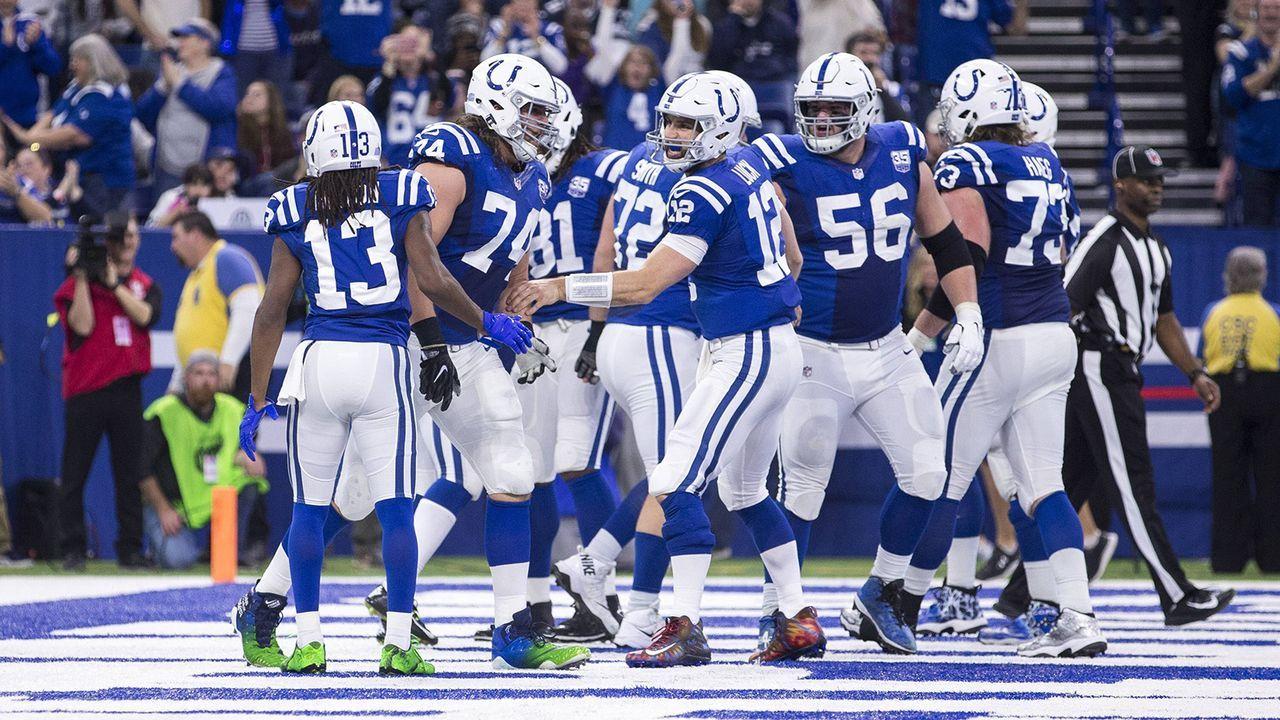 Platz 9: Indianapolis Colts (8-6, Vorwoche: Platz 10) - Bildquelle: imago/ZUMA Press