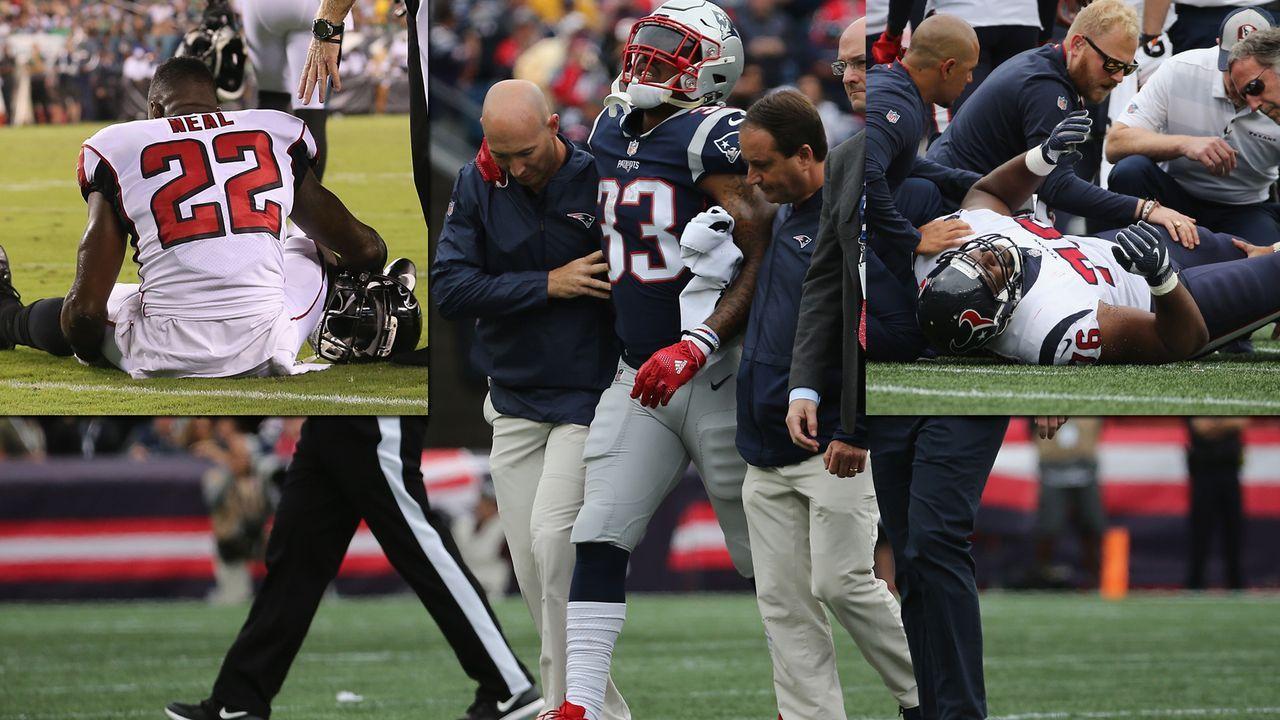 Für diese Spieler ist die NFL-Saison bereits gelaufen - Bildquelle: Getty