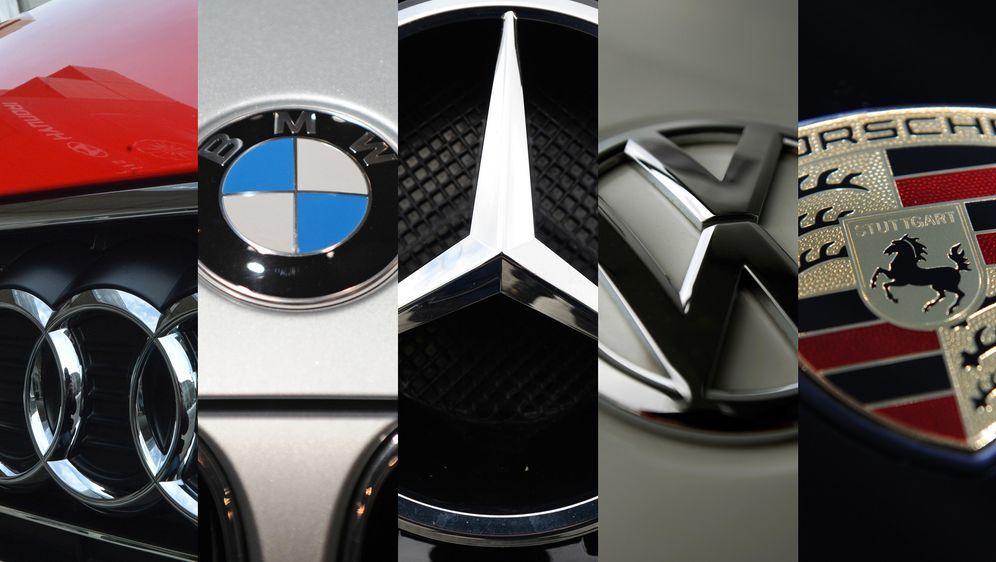 Das Duell der deutschen Automarken
