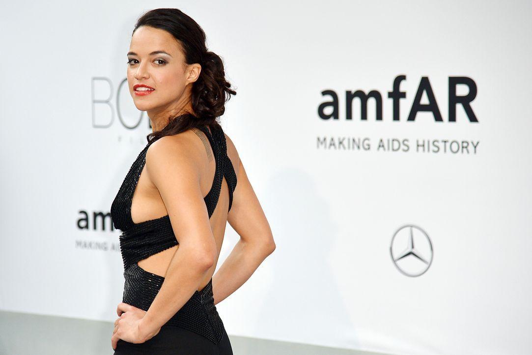 Cannes-Filmfestival-amfAR-Michelle-Rodriguez-140522-2-AFP - Bildquelle: AFP