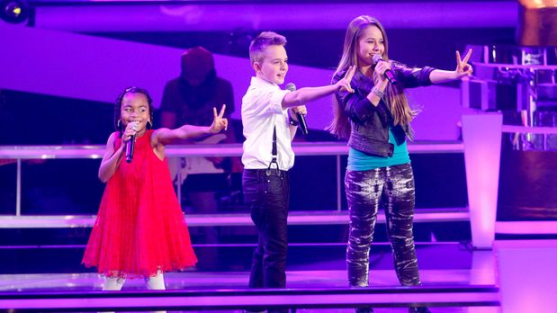 The Voice Kids - The-Voice-Kids-epi05-Mike-Olivia-Chelsea-2-SAT1-Richard-Hueb...