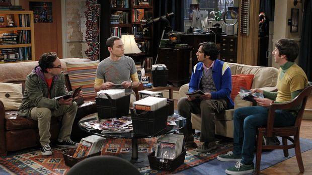 Eine ganz besondere Truppe: Sheldon (Jim Parsons, 2.v.l.), Raj (Kunal Nayyar,...