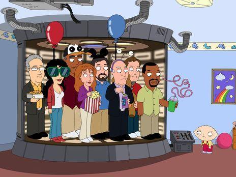 Family Guy - Stewie hat einen Transporter gebaut, mit dem er die Darsteller d...