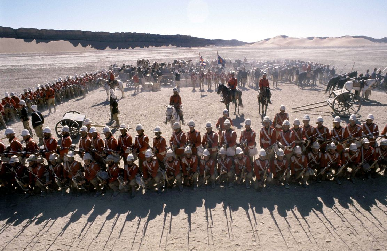 Als 1884 der muslimische Anführer Mahdi die sudanesischen Araber in eine Revolte gegen die britische Krone führt, schickt England ein Regiment in de... - Bildquelle: Jaap Buitendijk Concorde Filmverleih. All rights reserved.