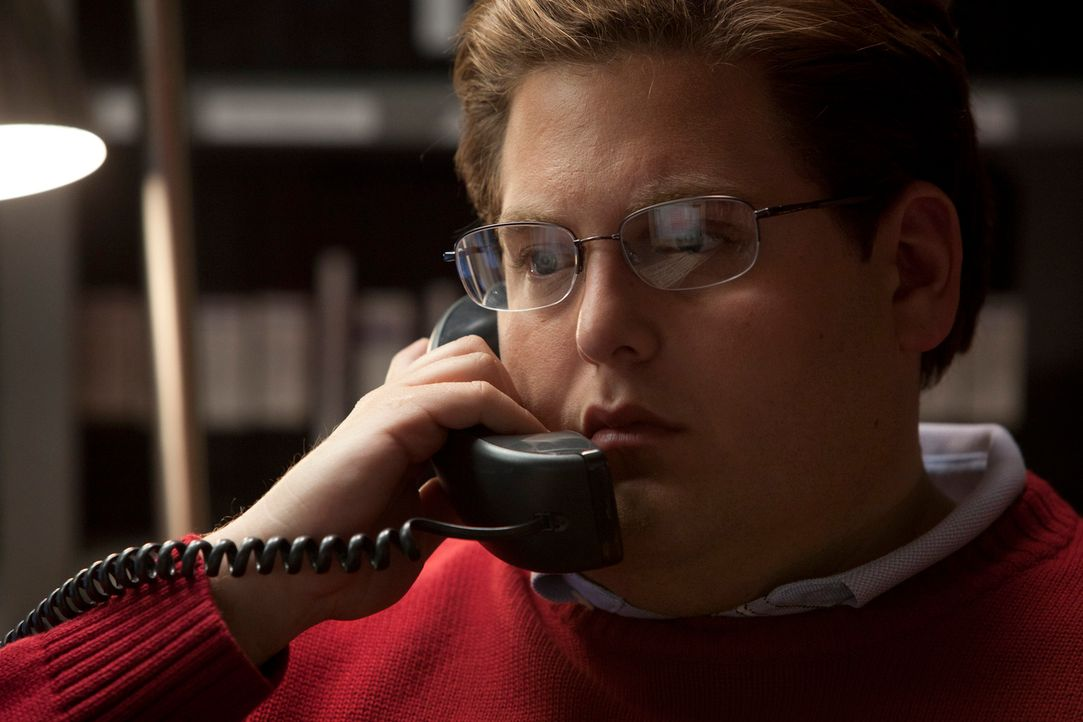 Der junge Wirtschaftsanalyst Peter Brand (Jonah Hill) glaubt, ein todsicheres System entwickelt zu haben, mit Computerstatistiken eine perfekte Mann... - Bildquelle: 2011 Columbia TriStar Marketing Group, Inc.  All rights reserved.