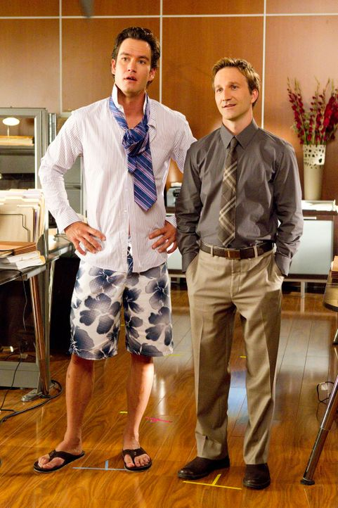 Staffel 1: Franklin und Bash - Bildquelle: Sony Pictures Television Inc.