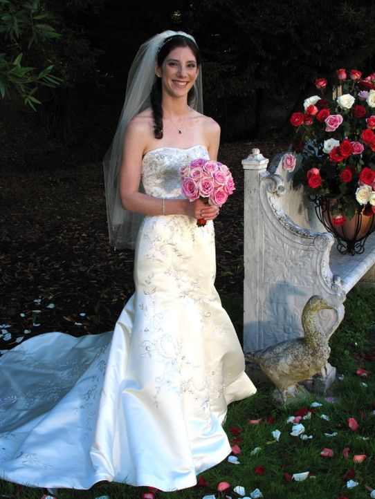 Natalie glaubt, dass ihre Hochzeit einfach perfekt wird ... - Bildquelle: Richard Vagg DCL