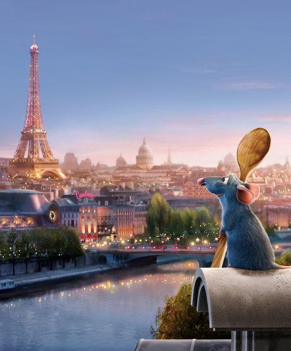 Remy, eine Ratte mit einer Vorliebe für Kochkunst, gutes Essen und mit einem ungewöhnlich feinen Geruchssinn ausgestattet, verschlägt es aus eine... - Bildquelle: Disney/Pixar.  All rights reserved