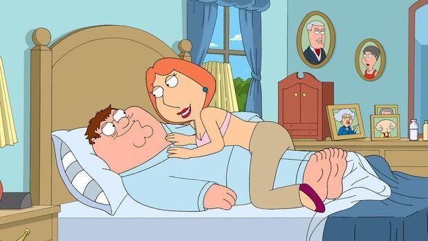 Family Guy - Traum oder Albtraum: Peter (l.) hat durch eine Erkältung eine ex...