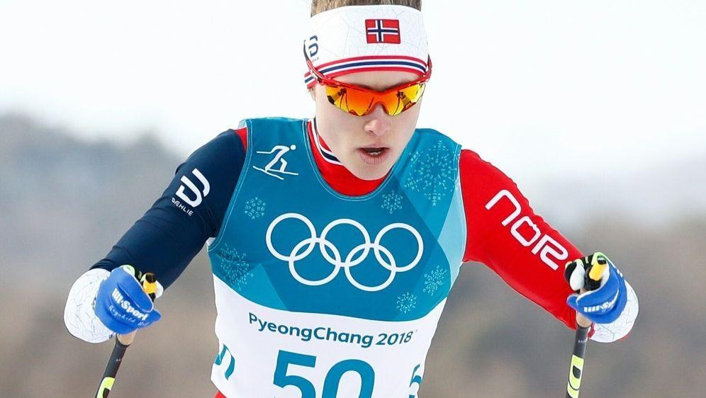 Ragnhild Haga holt sich Gold über 10-km-Freistil - Bildquelle: AFPSIDODD ANDERSEN