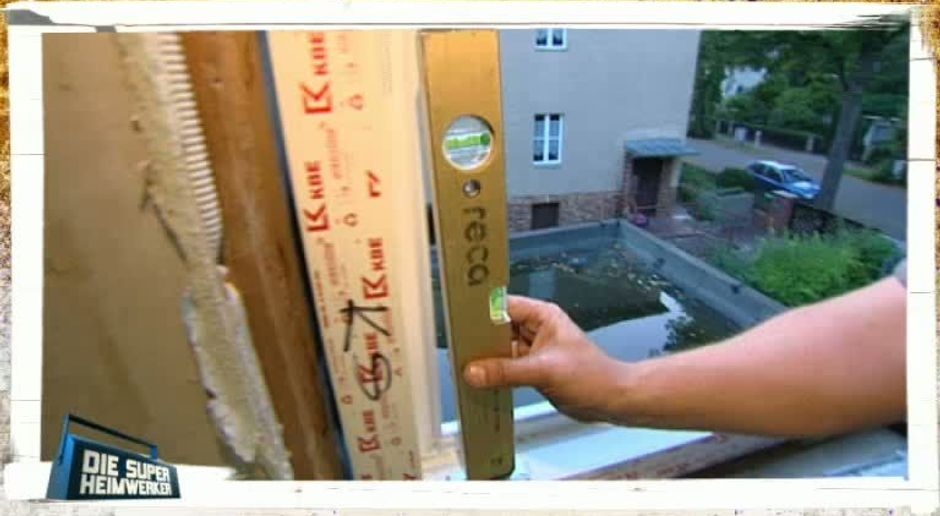 Die Super-Heimwerker - Video - Profi-Tipp: Fenster austauschen ...