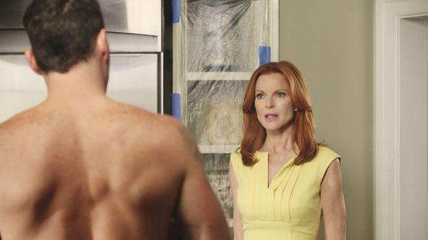 Bree (Marcia Cross, r.) fühlt sich immer mehr zu Keith (Brian Austin Green, l...