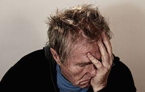 Verzweiflung-Kopfschmerzen
