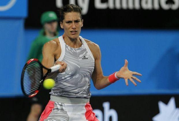 Petkovic verliert gegen Roberta Vinci in zwei Sätzen
